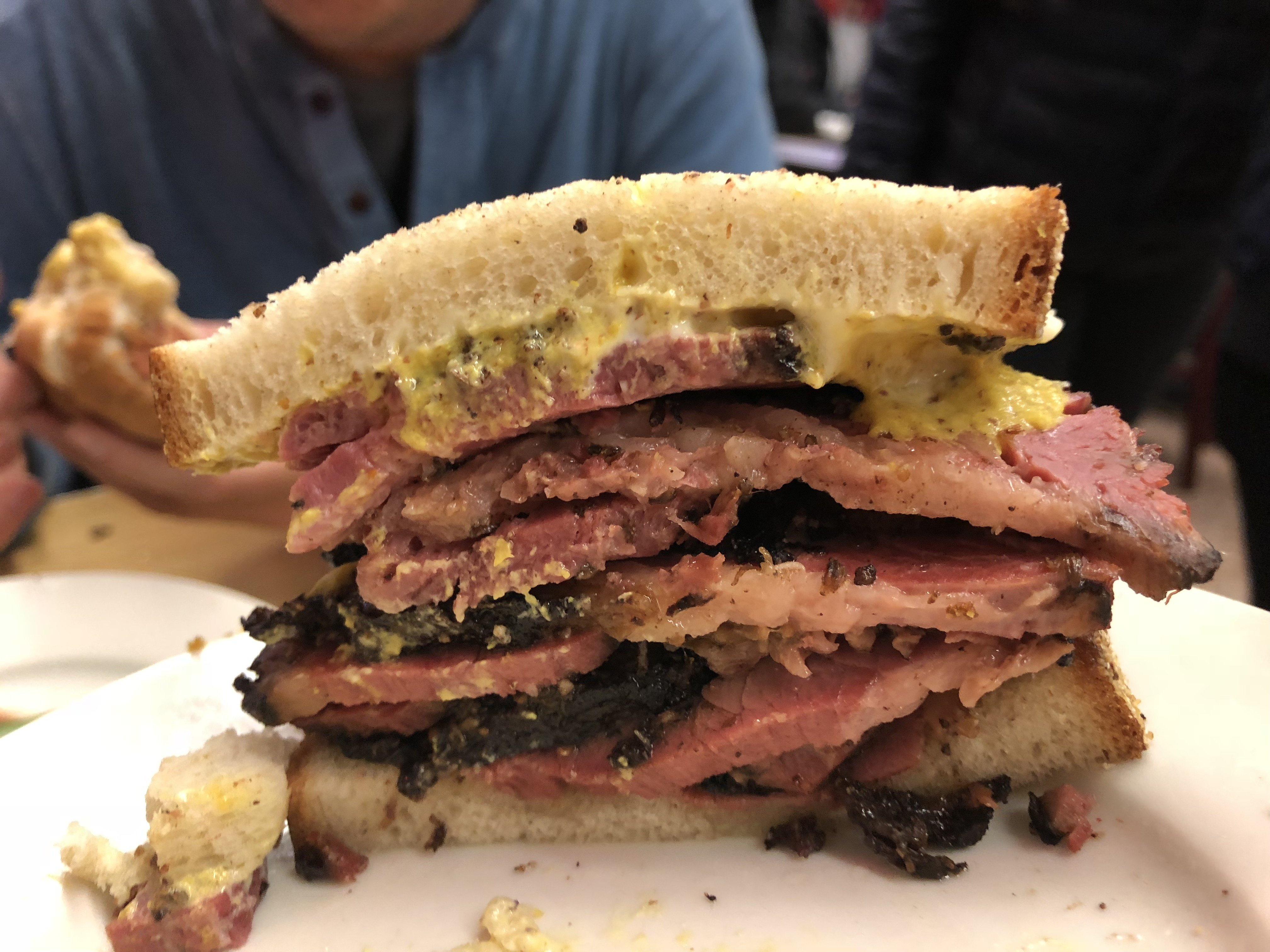 sandwiches in downtown nyc, nyc sandwiches, best NYC sandwiches, Katz deli, best delis nyc, pastrami sandwich