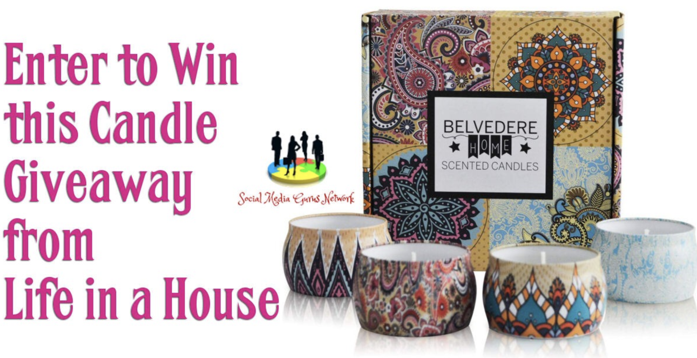 candles giveaway, candles gift set, belvedere candles