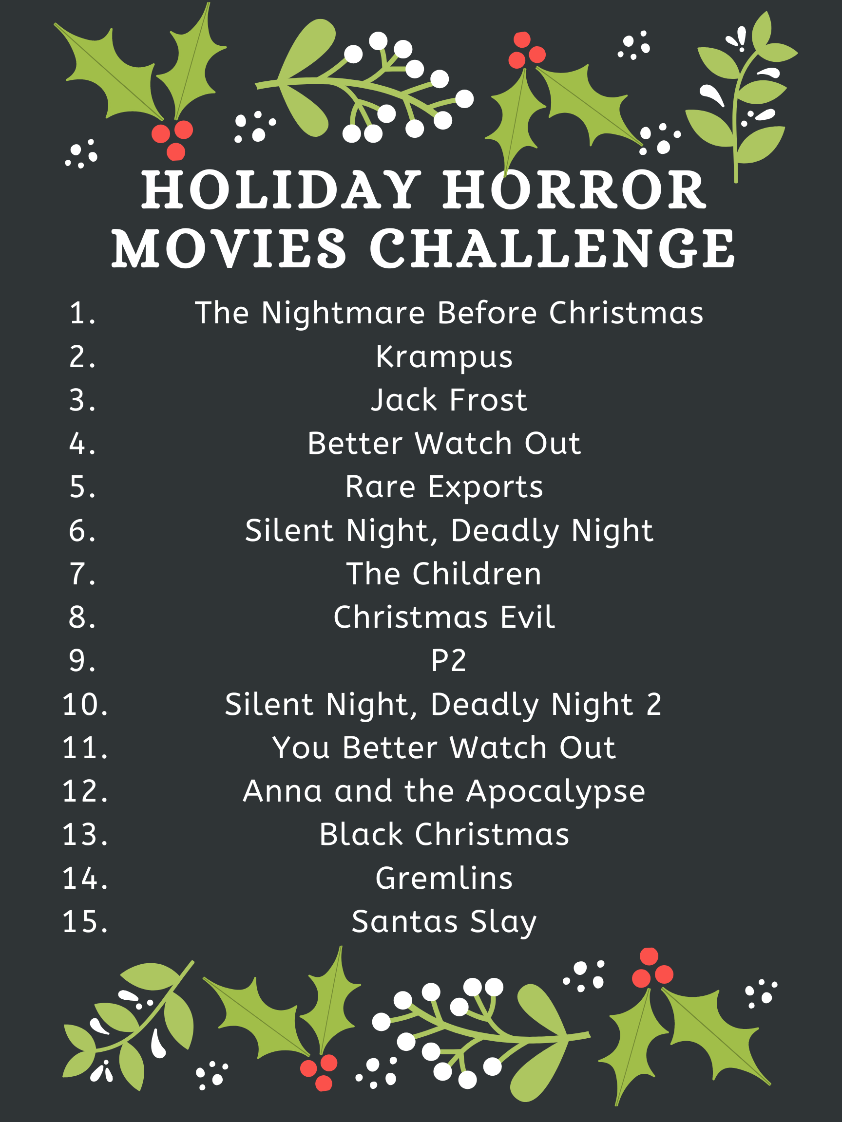 holiday horror movies, holiday horror, scary christmas movies, Christmas horror movies, Black Christmas remake