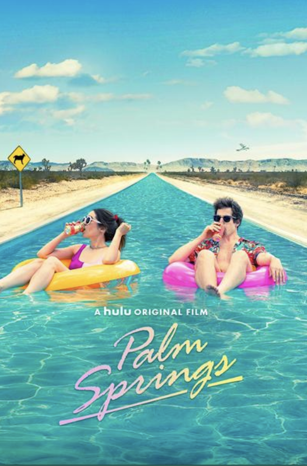 palm springs review, palm springs hulu, hulu original movies, streaming movies, time loop movies