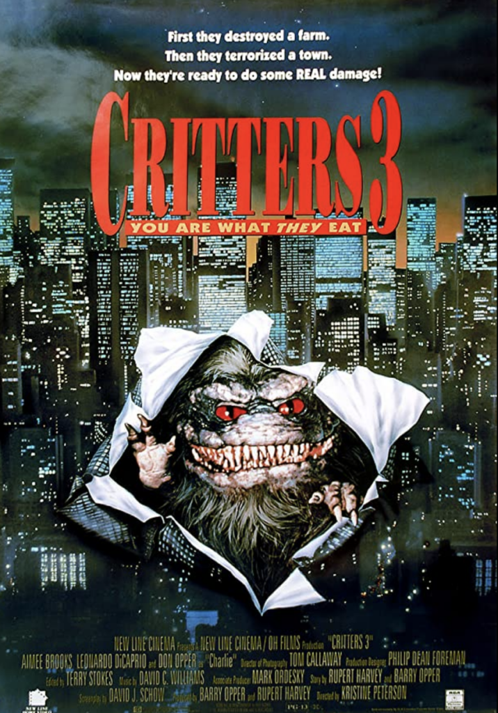 apartment horror movies, 80s horror movies, critters, critters 3, high rise horror, movie reviews