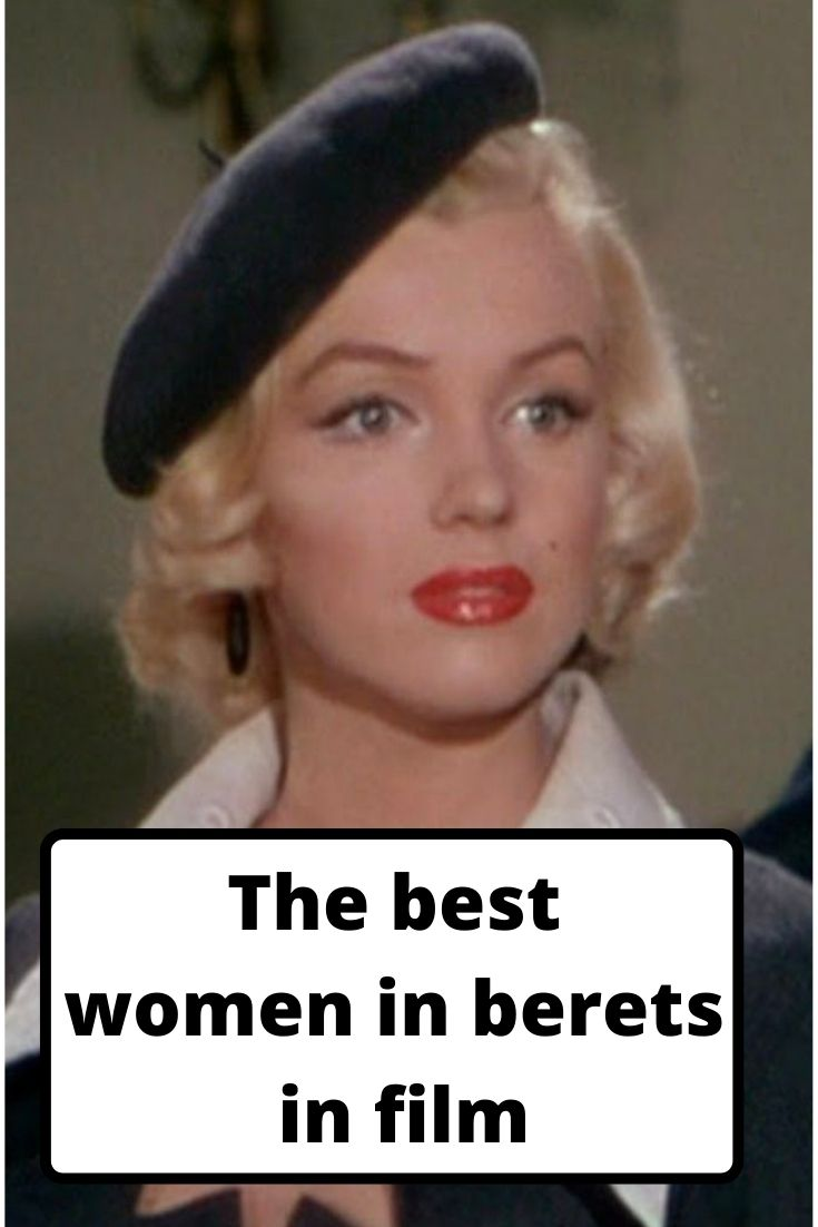 berets in film, women in berets, beret fashion, film fashion